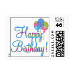 Birthday Wishes Stamps