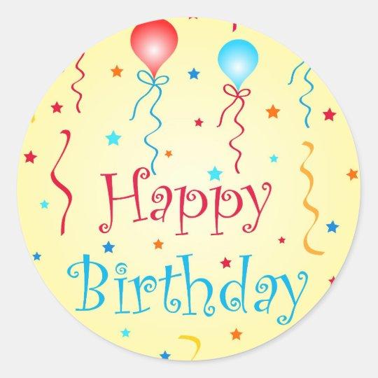 Birthday wishes - Sticker