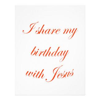 Birthday with Jesus Flyer