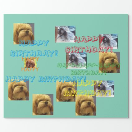Birthday Wrapping Paper Sugar_the_Dog