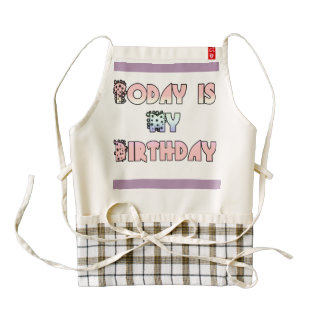 Birthday Zazzle HEART Apron