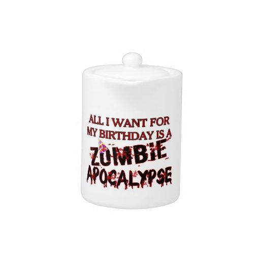 Birthday Zombie Apocalypse