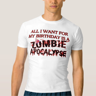 Birthday Zombie Apocalypse T-shirt