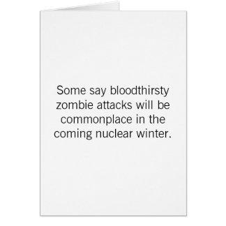 Birthday - Zombie Attacks Card