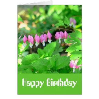 """BirthdayCard, """"I'm So Glad You Were Born"""" Greeting Card"""