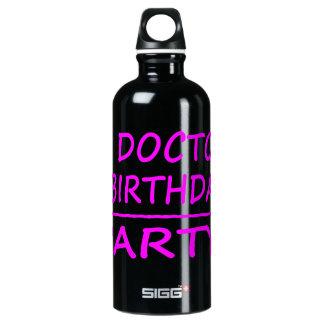 BIRTHDAYMATHS+Doctor+PINK+PROD.png Aluminum Water Bottle