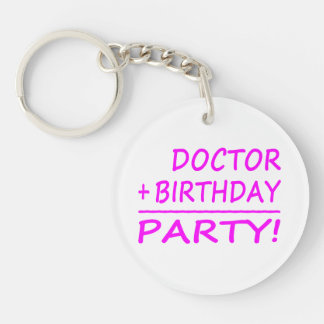 BIRTHDAYMATHS+Doctor+PINK+PROD.png Keychain