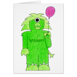 Birthdaymonster Card