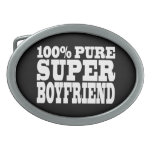 Birthdays Christmas : 100% Pure Super Boyfriend Oval Belt Buckle
