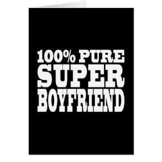 Birthdays Christmas : 100% Pure Super Boyfriend Card