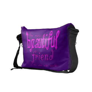 Birthdays Christmas Parties : Beautiful Friend Courier Bag
