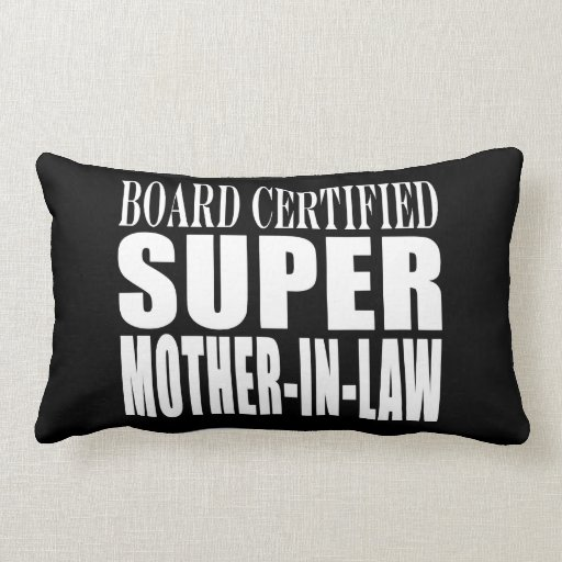 Birthdays Christmas Parties : Super Mother in Law Pillow