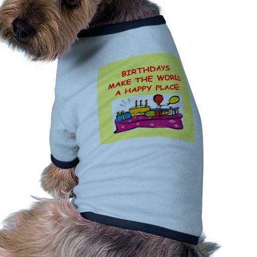 birthdays dog tee