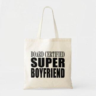 Birthdays Parties Board Certified Super Boyfriend Canvas Bag