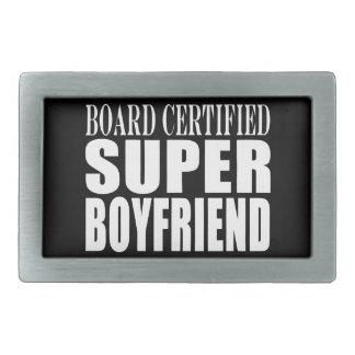 Birthdays Parties Board Certified Super Boyfriend Rectangular Belt Buckle