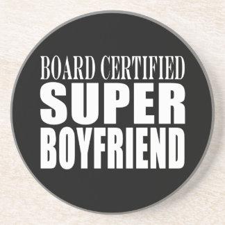 Birthdays Parties Board Certified Super Boyfriend Beverage Coasters