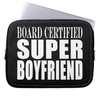 Birthdays Parties Board Certified Super Boyfriend Laptop Sleeve