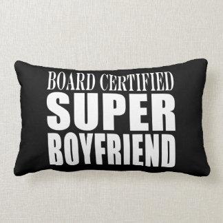 Birthdays Parties Board Certified Super Boyfriend Lumbar Pillow
