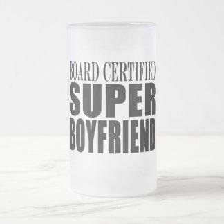 Birthdays Parties Board Certified Super Boyfriend Coffee Mugs