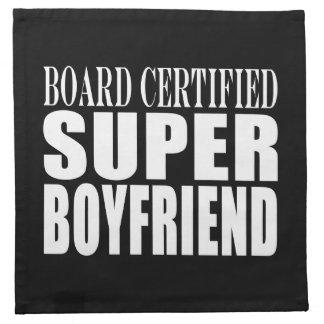 Birthdays Parties Board Certified Super Boyfriend Cloth Napkin