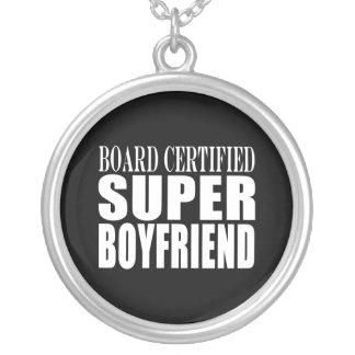 Birthdays Parties Board Certified Super Boyfriend Custom Necklace