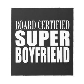 Birthdays Parties Board Certified Super Boyfriend Scratch Pad