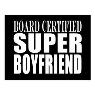 Birthdays Parties Board Certified Super Boyfriend Post Card