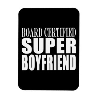 Birthdays Parties Board Certified Super Boyfriend Rectangle Magnets