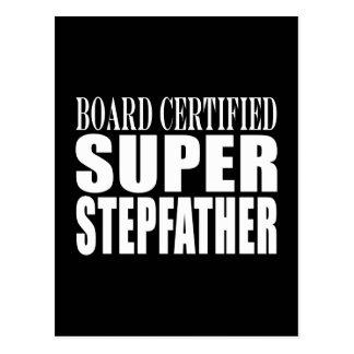 Birthdays Parties Christmas : Super Stepfather Postcard