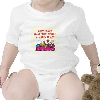 birthdays baby bodysuits