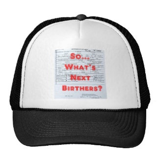 Birthers Mesh Hat