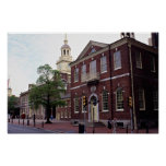 Birthplace of America, Independence Square, Philad Poster