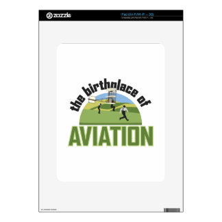 Birthplace of Aviation Skin For iPad