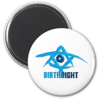 Birthright 2 Inch Round Magnet