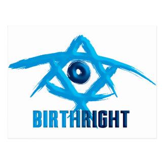 Birthright Postcard