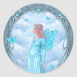 Birthstones - Aquamarine Fairy Sticker