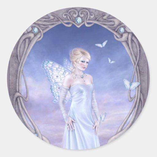 Birthstones - Diamond Fairy Sticker