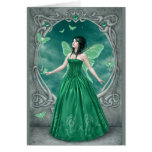 Birthstones - Emerald Fairy Greeting Greeting Cards