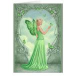 Birthstones - Peridot Fairy Greeting Greeting Card