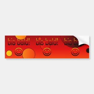 Bis Bald! German Flag Colors Pop Art Bumper Sticker
