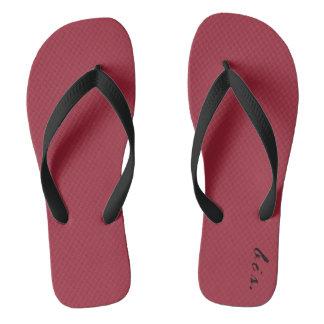 Bis. Luxury, Wide Straps Flip Flops