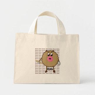 Bisale Pc-Drawn Version Mini Tote Bag