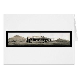 Bisbee AZ Country Club Photo 1909 Card