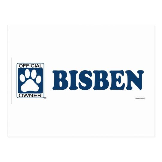 Bisben Blue Postcard