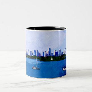 Biscayne Bay Two-Tone Coffee Mug