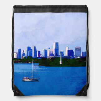 Biscayne Bay Cinch Bag