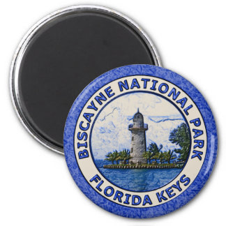 Biscayne National Park 2 Inch Round Magnet