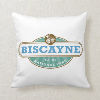 Biscayne National Park Throw Pillow