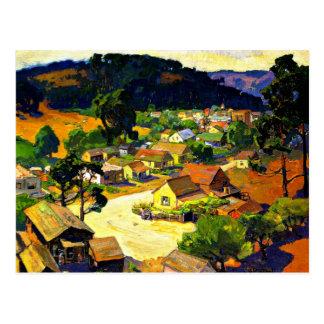 Bischoff - Cambria, a Peaceful California Town Postcard