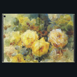 "Bischoff - Roses (yellow) iPad Pro 12.9&quot; Case<br><div class=""desc"">Franz Bischoff floral painting,  Roses (yellow)</div>"